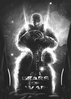 gears of war *black and white* by xXSolidXSnakeXx