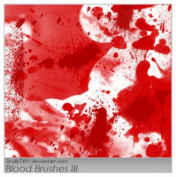 Blood Brushes III by Scully7491