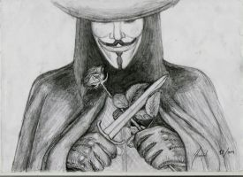 V for Vendetta by hasretgul