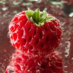 Strawberry droplets V by Bozack