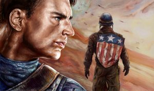No Chances - Captain America by DontSpeakSilent