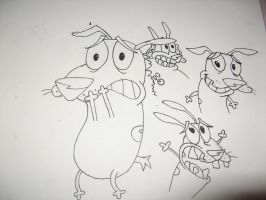 courage the cowardly dog by mandz333