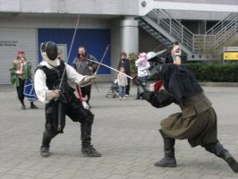 SCA garb in action by Tulloran
