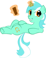 Lyra Has Ze Remote by KimikoNyanChan