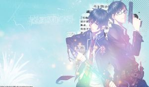 Ao No Exorcist Wallpaper by Kiwan105