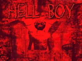 Hell BOy by raqeen