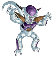 Frieza 1st form by RobertoVile
