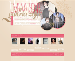 Em-Watson.pl gallery template by 1stdayofspring