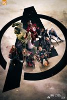 ''The Avengers: Age of Ultron'' poster by AndrewSS7