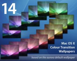 Mac OS X Aurora Wallpaper Pack by uselessdesires