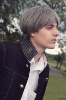 Yu Narukami - Persona 4 Cosplay by BLUEsteelProductions