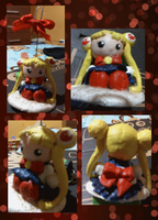 Sailor Moon Chibi Figure by cacoxima