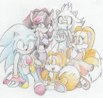 sonic next generation kids by tishtish4