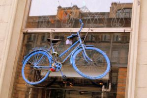Moscow  bicycle to my collection by Lanatrellana