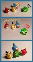 Angry Birds Drama by Gimmeswords