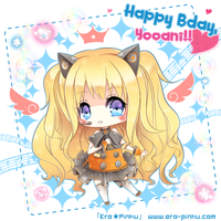 Happy Bday, Yooani by Ero-Pinku
