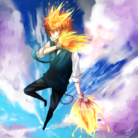 Tsuna by x-ShinyStar-x