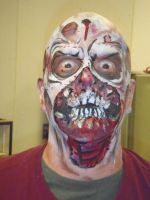 Daveman from 105 fm as zombie by dragonhuntr