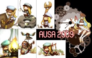 AUSA 2009 - badges + shirt by Tirael