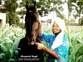 Me in ma Farm by MacGadger