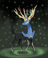Xerneas by Aven-Mochi
