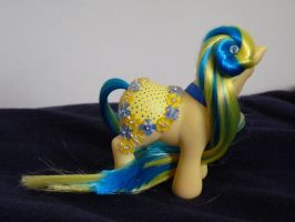 custom mlp merry go round style G3 Forget me not 1 by thebluemaiden
