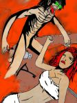 Attack on 50ft woman by sentry1996