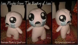 Isaac Handmade Plushie from The Binding of Isaac by SpinaOscura