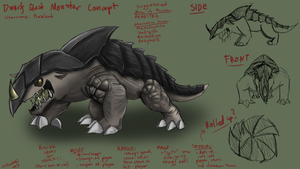 RS Monster Concept Art Competition - Armastag by prezleek