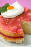 Rhubarb Upside Down Cake 2 by bittykate