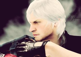 Dante ( Devil may cry 4) by YaninaJohnson