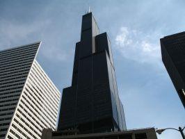 The Sears Tower The Big Steel by homrqt
