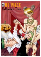 -OP-Yaoi-Halloween Time by vtophya