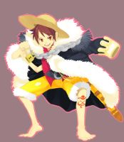One Piece_Luffy by Rocking-Chair
