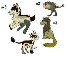 Creature adopts -OPEN- by Lady-Legs-Watson
