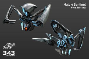 Halo 4 - Sentinel by ThelVoramee