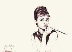 Audrey Hepburn by 3APOANHY