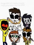 Ask Masky, Hoodie, Mary, Ale and me (CLOSED) by suriminam