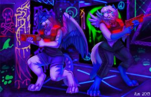 LaserTag Showdown by Ifus