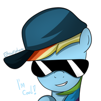Cool Dashie 2 by GrayTyphoon