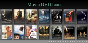 Movie DVD Icons 6 by manueek