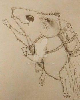 mouse in a jetpack by Menfia