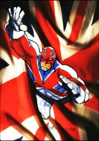 Captain Britain by BenComics