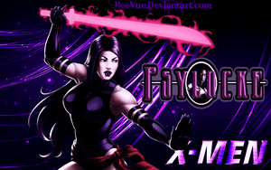 Psylocke Wallpaper by BeeVue