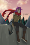 So this is the other side of the wall by Aurichi