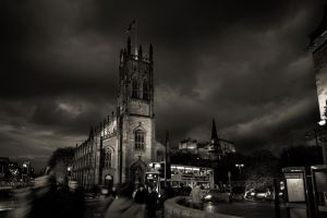 Edinburg`s Dark Night by AlexGutkin