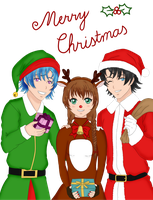 Merry Christmas by aniee14
