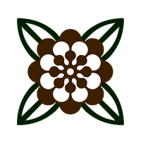 Flower Emblem with Leaves by Suboshigrl