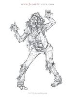 Zombie Chick by illgnosis
