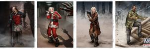 Dead of Winter Characters 04 by fdasuarez